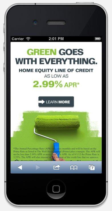 Brookline bank mobile website